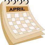 अप्रैल माह