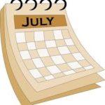 जुलाई माह